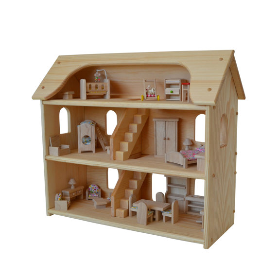 Waldorf Dollhouse-Wooden Doll House