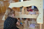 Wooden Toys- Child's Wooden Dollhouse