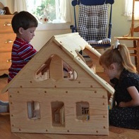 Spark Imagination with Dollhouses and Play Barns by A Toymaker's Daughter