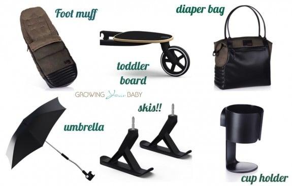 cybex priam accessories