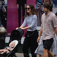 Keira Knightley & James Righton Take Daughter Edie For A Walk