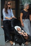 Actress Keira Knightley steps out with daughter Edie