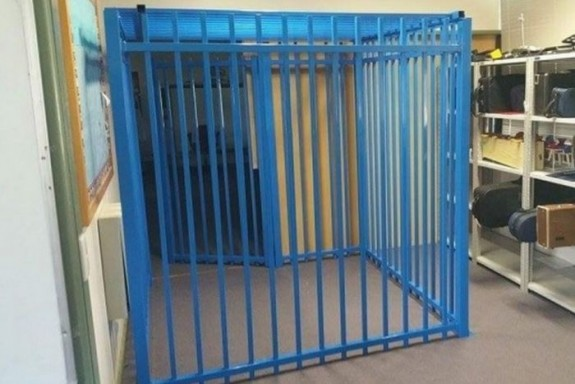 Australian School Builds Cage To Create A 'Quiet Space' For Child With Autism
