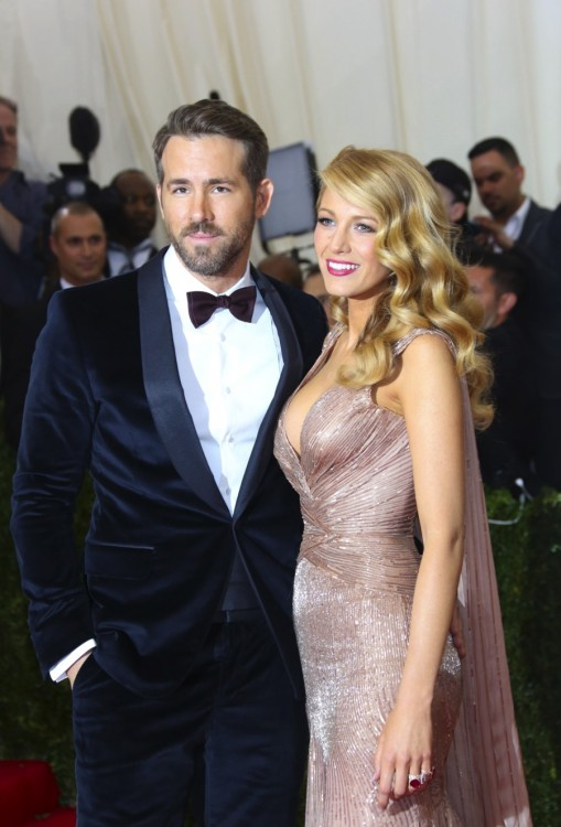 Blake Lively and Ryan Reynolds at MET Costume Gala