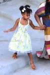 Blue Ivy vacations in the Southern Italy