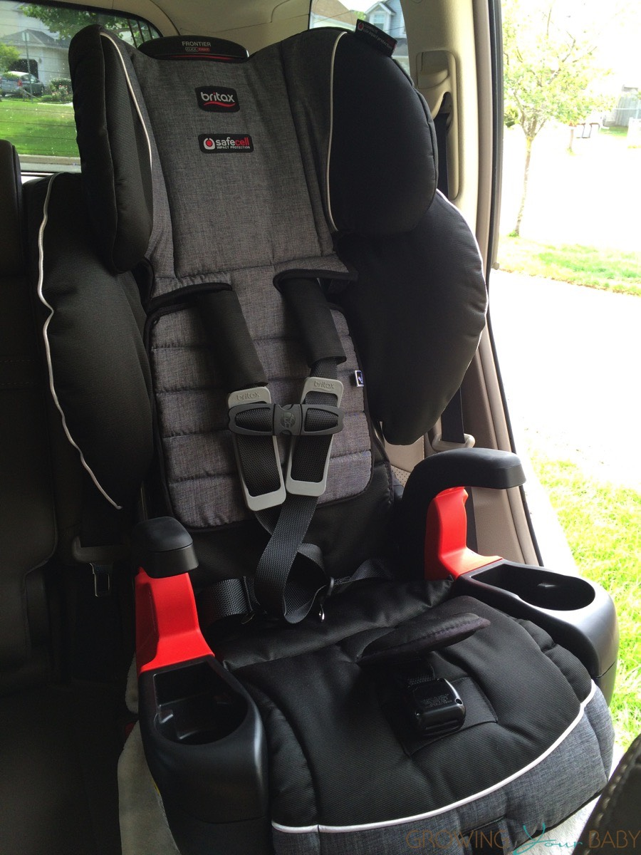 Britax Frontier ClickTight Harness To Booster Car Seat