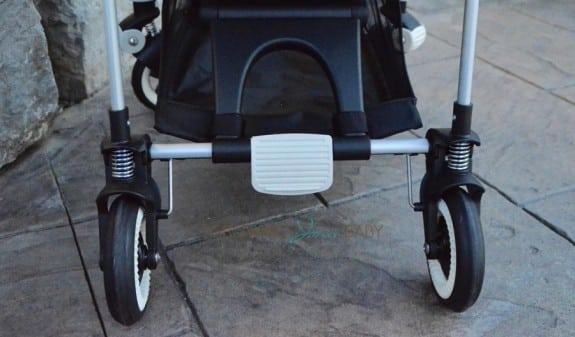 Bugaboo Bee3 - back of stroller