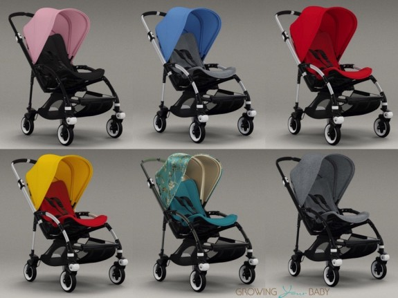 Bugaboo Bee3 combinations