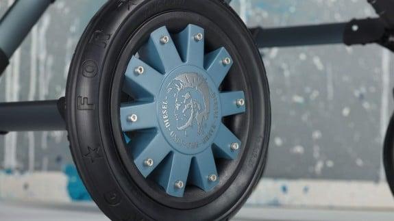 Bugaboo Diesel Denim Cameleon - wheel