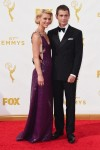 Claire Danes and Hugh Dancy at the 67th annual Primetime Emmy Awards