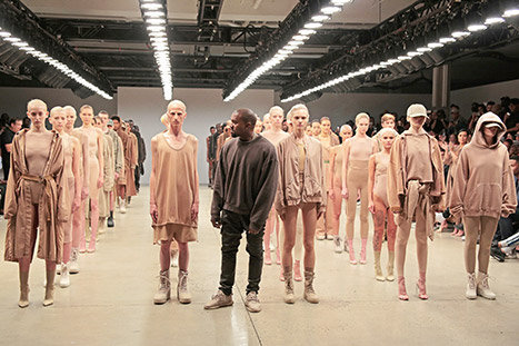 Kanye West Fall 2015 Yeezy collection