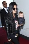 Kourtney Kardashian at LAX with son Reign Disick