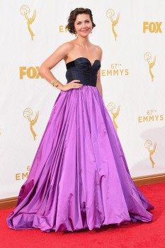 Maggie Gyllenhaal - 67th annual Primetime Emmy Awards