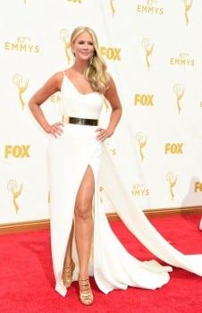 Nancy O'Dell - 67th annual Primetime Emmy Awards