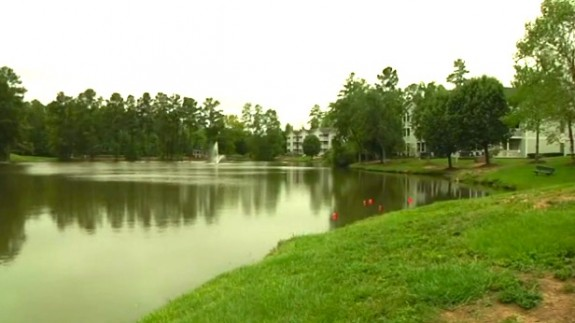 North Carolina Deputy Rescues Children from Pond after Father Throws Them in to Drown