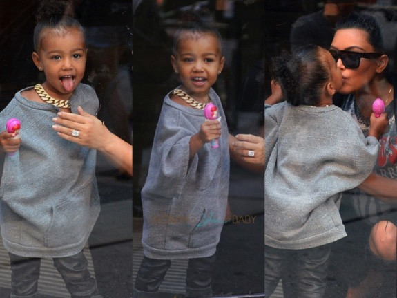 North West Visits Toys R US in NYC