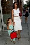 Padma Lakshmi out in NYC with daughter Krishna Lakshmi-Dell