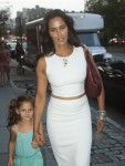 Padma Lakshmi steps out in NYC with daughter Krishna Lakshmi-Del