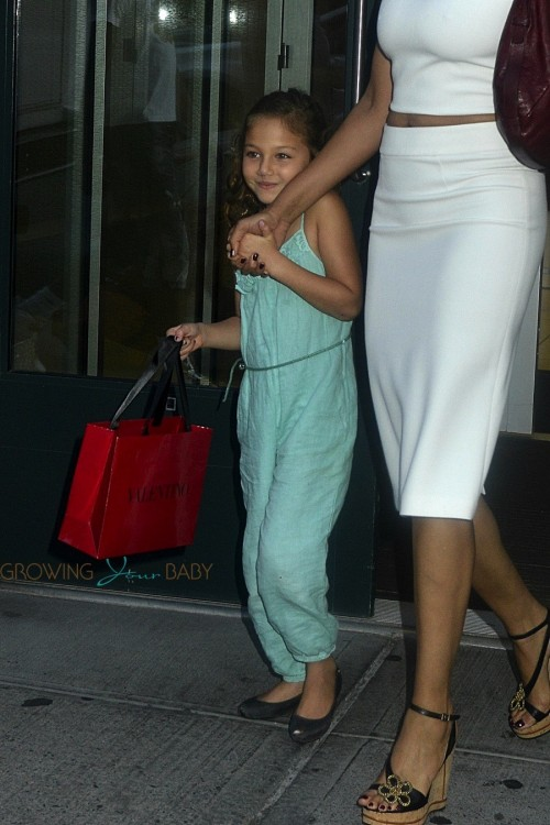 Padma Lakshmi steps out in NYC with daughter Krishna Lakshmi-Dell