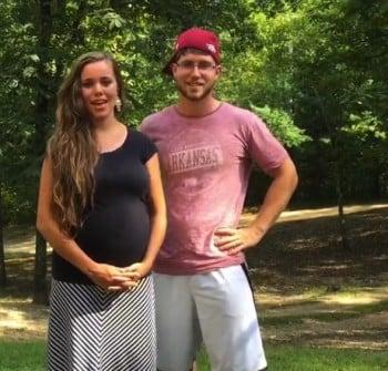 Pregnant Jessa Seewald with husband Ben