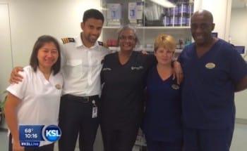 Royal Caribbean Medical crew