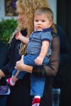 Shakira Steps Out In NYC With youngest Son Sasha