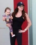 Tamara Ecclestone out in LA with her daughter Sophia Rutland