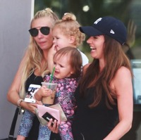 Tamara and Petra Ecclestone Lunch With Their Little Ladies!