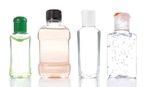 product bottles