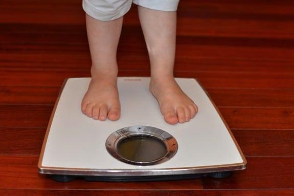 toddler weight