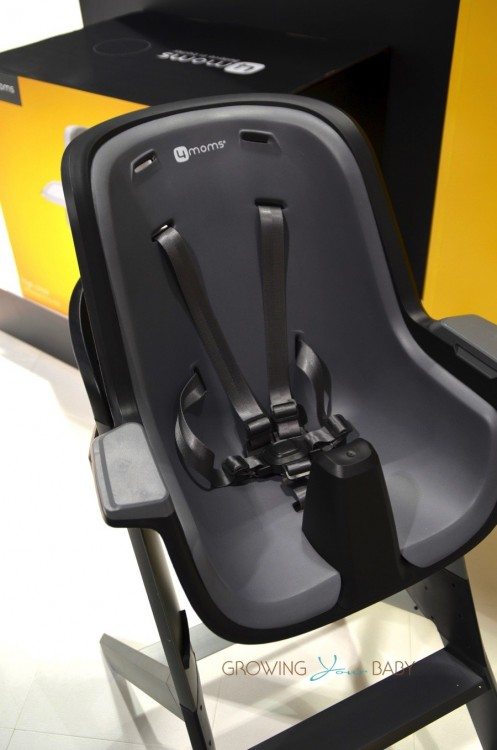 4Moms highchair - black