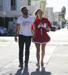 Alessandra Ambrosio dressed up for Halloween with her partner Jamie Mazur