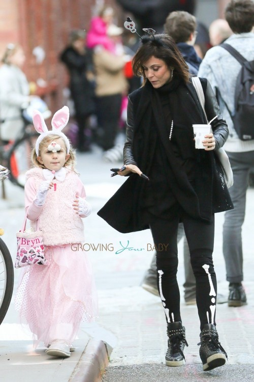 Bethenny Frankel, Bryn Hoppy at a Halloween Party