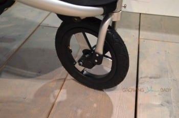 Bumbleride Speed Stroller - front wheel