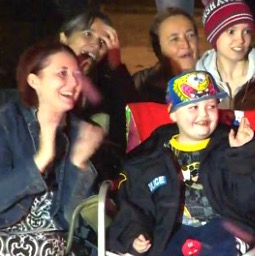 Town Brings Christmas Early for Terminally Ill Child