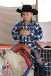 Gwen Stefani's son Zuma Rossdale at Shawn's pumpkin patch