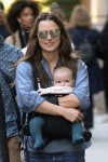 Keira Knightley Steps Out With Baby Edie In NYC