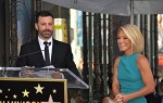 Kelly Ripa and Jimmy Kimmel at the Hollywood Walk of Fame Star Ceremony