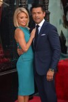 Kelly Ripa and Mark Consuelos at the Hollywood Walk of Fame Star Ceremony