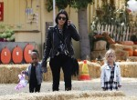 Kourtney Kardashian Enjoys Underwood Family Farms with daughter Penelope,  and Niece North West