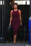 Kourtney Kardashian leaves a studio in LA