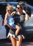 Kourtney Kardashian out in LA with daughter Penelope Disick