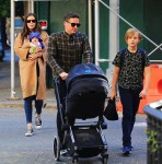 Liv Tyler and David Gardner step out in NYC with kids Milo Langdon and Sailor Gardner