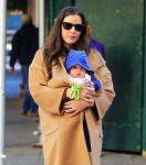 Liv Tyler out in NYC with son Sailor Gardner