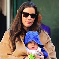 Liv Tyler Strolls with Her Family in NYC