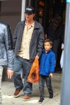 Matthew McConaughey out in NYC with son Levi