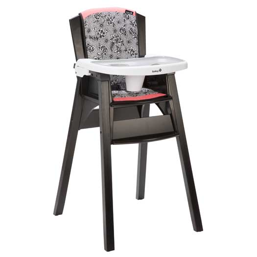 Safety 1st Recalls 35,000 Decor Wood Highchairs Due to Fall Hazard
