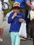 Seraphina Affleck at the market in Pacific Palisades
