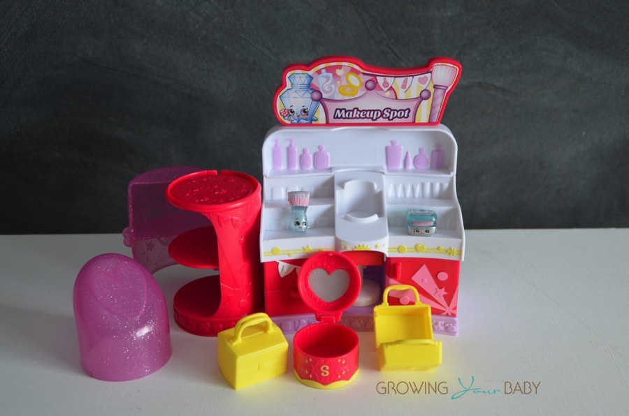 Shopkins Make-up Spot - open