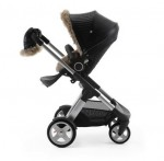 Stokke Stroller Winter Kit - black on the Crusi